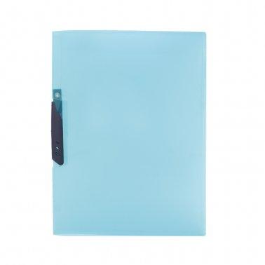 Dossier F-08 azul pinza plástico 30 hojas Plus Office