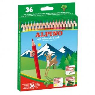 Lápices de colores Alpino 36 unid