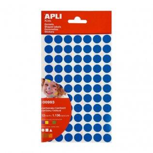 Gomets Figuras Geométricas pequeñas Az/Am/Ro/Ve 1136 gomets Apli