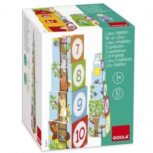 Juguete Educativo Cubos Apilables Goula