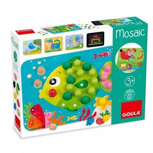 Juguete Educativo Mosaico Goula
