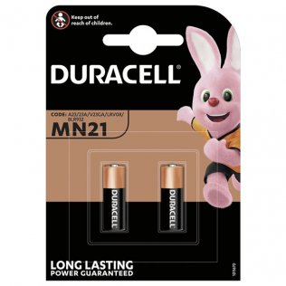 Pilas Duracell alcalinas MN21 / blíster 2 ud