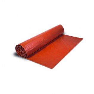 Bolsas de basura 54x60cm Rojo 25 ud