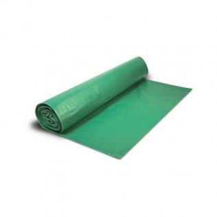 Bolsas de basura 54x60cm Verde 25 ud