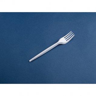 Tenedor de plástico 100 unid