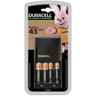Cargador pilas Duracell CEF27 + 2 pilas AA + 2 pilas AAA