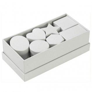 Set de cajas para decorar blancas