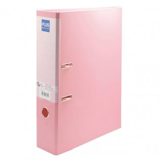 Archivador Rosa Pastel Fº lomo 80mm Plus Office