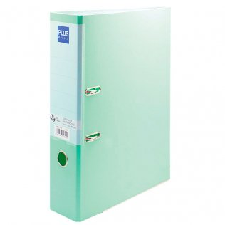 Archivador Verde pastel Fº lomo 80mm Plus Office
