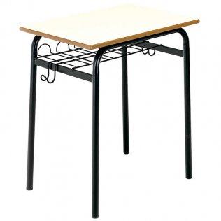 Mesa con bandeja portadocumentos 60x50cm Altura 75 cm