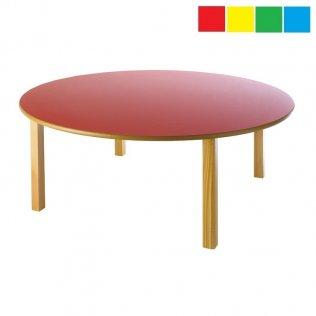 Mesa infantil redonda diámetro 120cm Altura: 46cm Haya