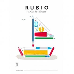 Cuaderno Rubio Colorear 1 / 5 unidades
