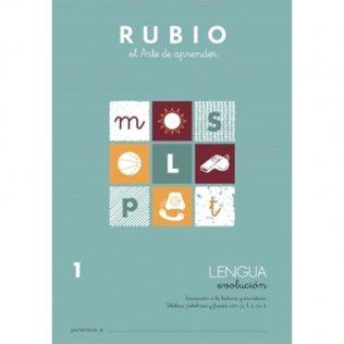 Cuaderno Rubio Lengua Evolución 1