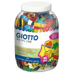 Moldeadores Giotto Bote 95 Unidades formas surtidas