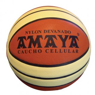 Balon Basket Amaya Nº5 Caucho Bicolor