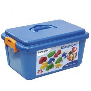 Juego Educativo Miniland Minimobil 36 piezas