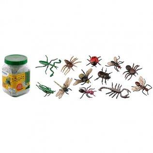 Figuras Miniland Animales Insectos / 12 unidades