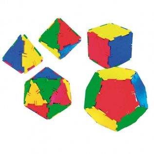 Juego Educativo Solidos Platonicos /54 piezas