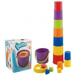 Juego Educativo Miniland Vasos Giantte