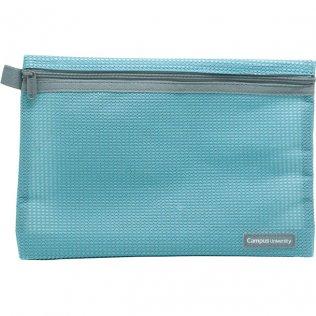 Bolsa multiuso azul con cremallera 240 x 170 mm