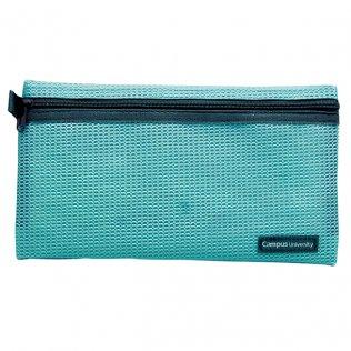 Bolsa multiuso azul con cremallera 230 x 130 mm
