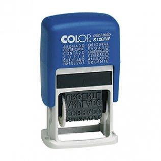 Sello Comercial Colop Mini-Info 120