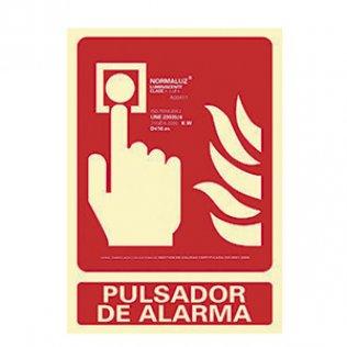 Pictograma Archivo 2000 Pulsador de alarma