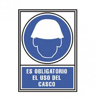Pictograma Archivo 2000 Obligatorio uso de casco