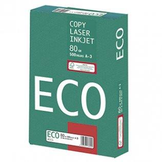 Papel blanco ECO A3 80g 500 hojas
