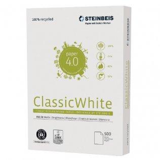 Papel A4 100% reciclado ClassicWhite 80g 500 hojas