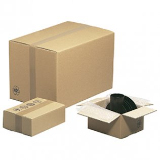 Caja para embalar americana 39x34x58cm canal doble