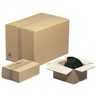 Caja para embalar americana 20x14x14cm canal doble