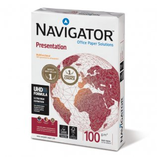 Papel A4 Navigator Presentation blanco 100g 500 hojas