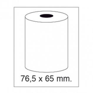 Rollo papel sumadora 1 copia 57g 76,5x65mm