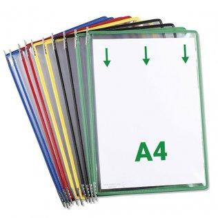 Fundas para clasificador Tarifold A4 Pack 10 fundas
