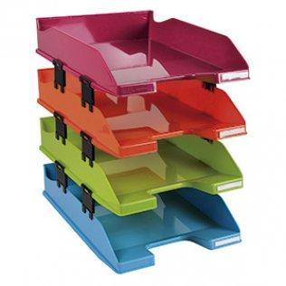 Set 4 bandejas Exacompta Combo A4+