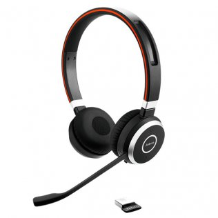 Auricular Jabra Evolve 65 UC Stereo Inalámbrico
