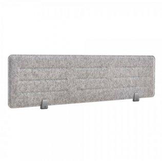 Panel acústico sobremesa Rocada 138x34cm gris