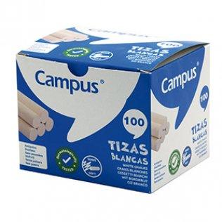 Tizas blancas caja 100 ud Campus