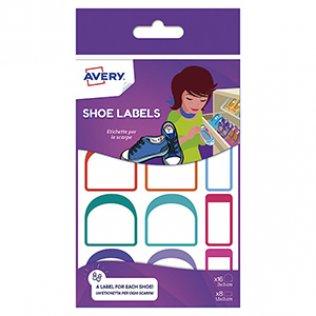 Etiquetas para marcar zapatos Avery / 24 unid