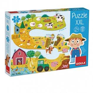 Juego Educativo Puzzle XXL Granja Goula