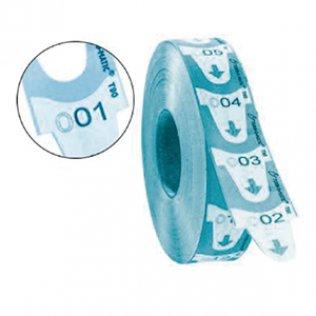 Ticket Meto Turn-O-Matic 4000 ud azul