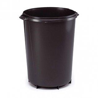 Contenedor circular negro 40 litros