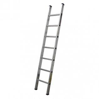 Escalera simple aluminio 7 peldaños 200 cm