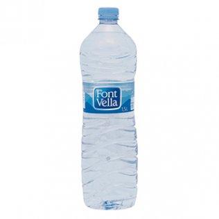 Agua Font-Vella botella 1,5 litros
