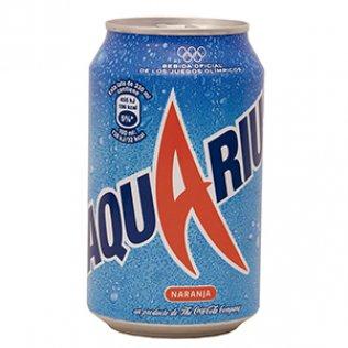 Aquarius Naranja lata 33 cl