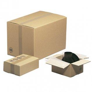 Caja para embalar americana 20x14x14cm canal simple