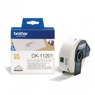 Etiquetas Brother DL11201 29x90 mm dirección estándar 400u