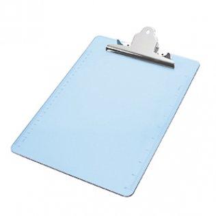 Placa con pinza azul claro Plus Office
