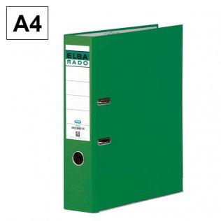 Archivador A4 Verde Lomo 80mm Elba Rado-Chic